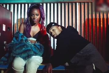 "Justine Skye Feat. Tyga ""Collide"" Video"