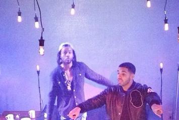 PartyNextDoor Brings Out Drake at SOB's