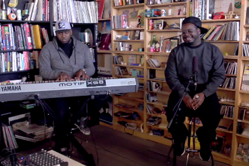 "T-Pain ""Tiny Desk Concert"" Video"