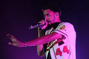 "J. Cole Shows Up At A Fan's House In Dallas To Play Her ""2014 Forest Hills Drive"""