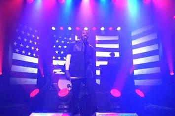 """Lecrae Performs """"Welcome To America"""" On Jimmy Fallon"""