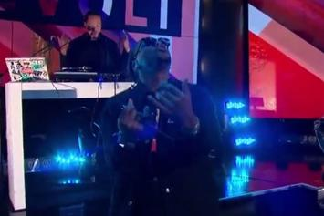 "Lupe Fiasco Performs ""Adoration Of The Magi"" Live On Revolt TV"