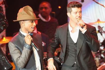 """Pharrell & Robin Thicke Earned A Combined $5 Million From """"Blurred Lines"""""""