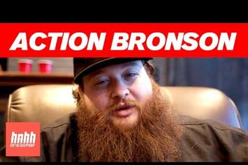 """Action Bronson Talks """"Mr. Wonderful"""" Art, Working With 40 & More"""