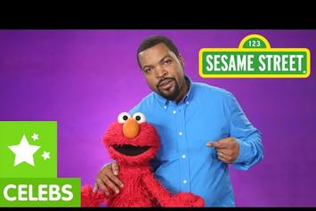 "Ice Cube On ""Sesame Street"" With Elmo"