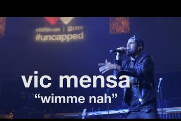 "Vic Mensa Performs ""Wimme Nah"" At #Uncapped In NYC"