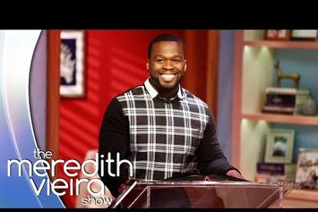 """50 Cent Plays """"50 Cent or 50 Shades of Grey?"""" On """"The Meredith Vieira Show"""""""