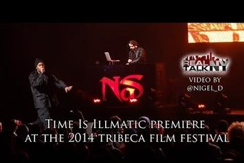 """Nas Premieres """"Time Is Illmatic"""" At Tribeca Film Festival"""