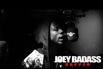 "Joey Bada$$ Feat. Kirk Knight ""Fire In The Booth (Freestyle)"" Video"