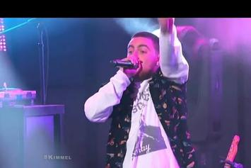 "Mac Miller Performs ""Watching Movies"" Live For Jimmy Kimmel"