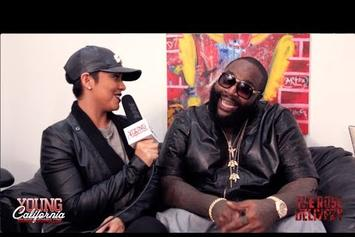 """Rick Ross """"Young California: Rose Delivery Interview"""" Video"""