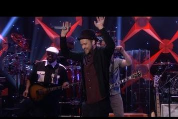"Justin Timberlake Performs ""TKO"" On Ellen"