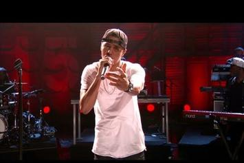 "J. Cole """"Crooked Smile"" Live On Conan"" Video"