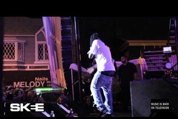 """Wale Feat. YG & DJ Skee """"Brings Out Chris Brown @ Sunset Strip Festival"""" Video"""