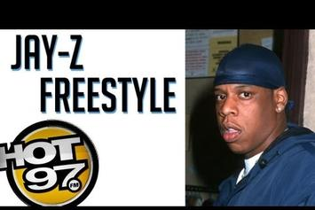 "Jay-Z """"Grammy Family"" Freestyle On Hot 97 (Vintage Footage)"" Video"