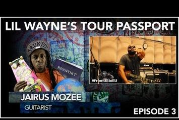 "Lil Wayne ""Tour Passport: Guitarist Jairus Mozee (Ep. 3)"" Video"