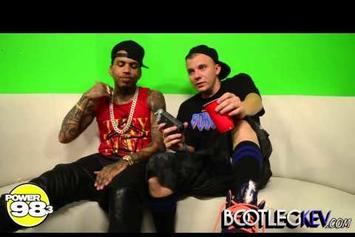 """Kid Ink """"Interview w/ Bootleg Kev: Discusses GKMC Tour, New EP & Yeezus"""" Video"""