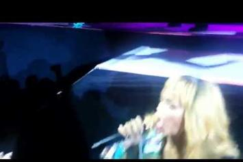 "Rihanna ""Hits Fan w/ Mic During Diamonds World Tour"" Video"