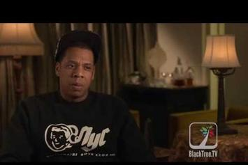 "Jay-Z ""Talks Executive Producing ""The Great Gatsby"" Soundtrack"" Video"