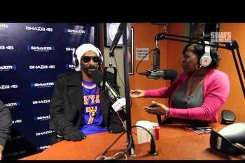 "Snoop Dogg ""Sway In The Morning Freestyle"" Video"