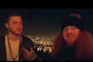 """Rittz Feat. Mike Posner """"BTS Of """"Switch Lanes"""""""" Video"""