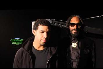 "Snoop Dogg Feat. Drake & Cori B ""No Guns Allowed (BTS)"" Video"