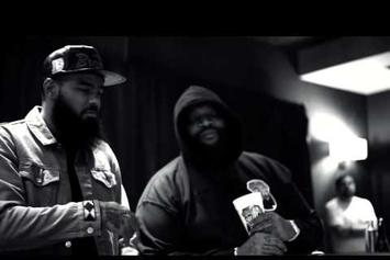 "Stalley Feat. Scarface ""In Studio Creating ""Swangin"""" Video"