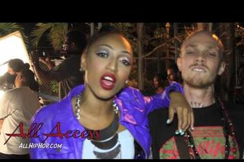 """Trina """"BTS Of """"Round Of Applause"""""""" Video"""