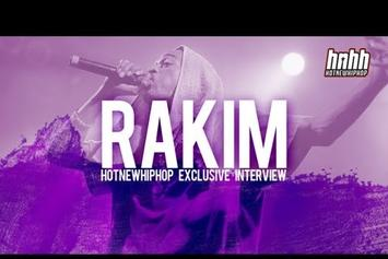 "Rakim ""Rakim Interview - HNHH Exclusive"" Video"
