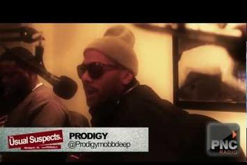 """Prodigy (Mobb Deep) """"""""The Usual Suspects"""" Freestyle"""" Video"""