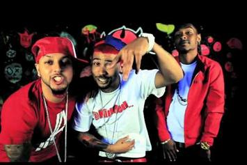 "Nu Jerzey Devil Feat. Kid Red & Ben J (New Boyz) ""Everything's a Blur "" Video"