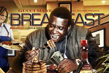 "Stream Three New Albums From Gucci Mane: ""Breakfast"", ""Lunch"" & ""Dinner"""