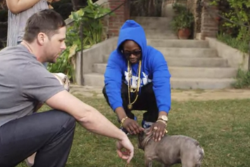 "2 Chainz Pets An $100K Pooch On ""Most Expensivest Shit"""