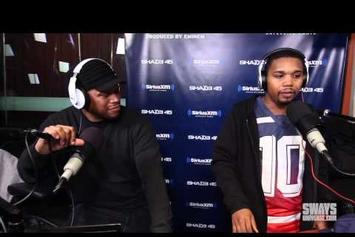 Charles Hamilton Freestyles On Sway In the Morning