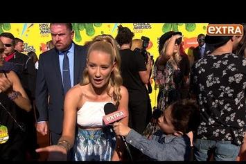10-Year-Old Asks Iggy Azalea About Her Breast Enhancement Surgery