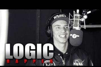 """Logic """"Fire In The Booth"""" Freestyle"""