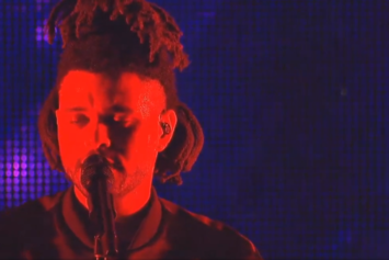 Watch The Weeknd's Full Coachella 2015 Performance