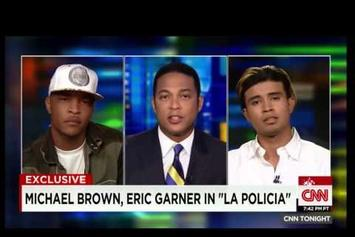 T.I. & Kap-G Speak On Police Brutality On CNN