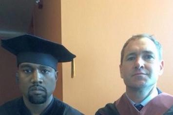 Kanye Receives His Honorary Doctorate From SAIC