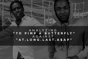 "Analyzing ""To Pimp A Butterfly"" Against ""At.Long.Last.A$AP"""