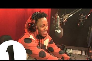 Kendrick Lamar On BBC Radio 1