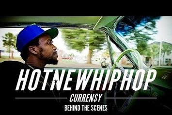 Curren$y's HNHH Digital Cover Story BTS
