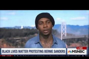 Lil B Talks Bernie Sanders, #BlackLivesMatter On MSNBC
