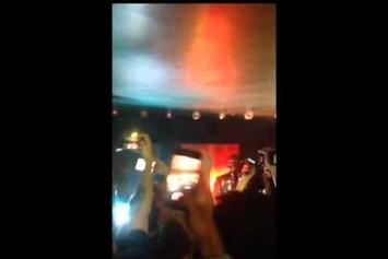 "Travi$ Scott & Justin Bieber Perform ""Maria, I'm Drunk"" In NYC"