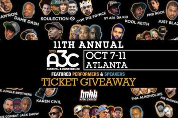 Ticket Giveaway: Win A Pair Of Passes To A3C Festival