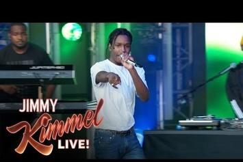 "ASAP Rocky Performs ""Canal St"" On Jimmy Kimmel Live"