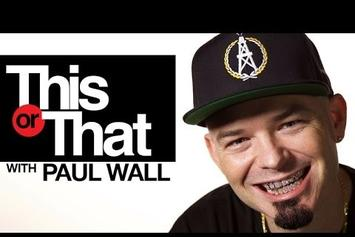 """Paul Wall Plays """"This Or That"""""""