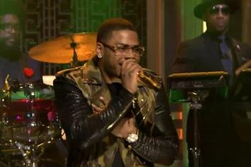 "Nelly Performs ""The Fix"" On Jimmy Fallon"