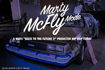 "Marty McFly Mode: 5 Ways ""Back To The Future 2"" Predicted Hip Hop Today"