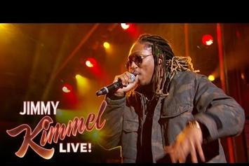 "Future Performs ""Blow A Bag"" & ""Where Ya At"" On Jimmy Kimmel Live"